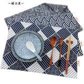 日式復古棉麻布藝餐桌墊簡約餐墊隔熱碗墊喝茶藝文藝餐廳西餐墊子【櫻花本鋪】