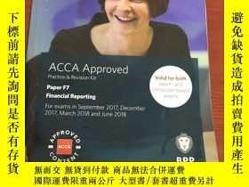 二手書博民逛書店ACCA罕見Approved Paper F7Y366402 b