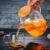 大容量耐熱玻璃茶壺加厚涼水壺家用果汁壺包郵【時尚好家風】