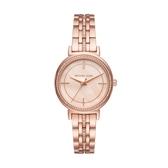 MICHAEL KORS氣質優雅玫瑰金腕錶/MK3643