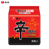 韓國 農心 辛拉麵 四包入(120g*4)【庫奇小舖】