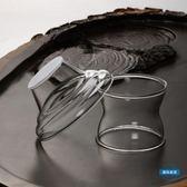茶漏創意特大號玻璃茶漏 加厚耐熱茶濾過濾網 功夫茶具零配件隔濾茶器
