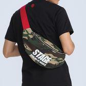 撞色衝擊腰掛包 STAGE TWO COLOR WASIT BAG 黑色/迷彩色 兩色