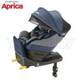 【2019新品】愛普力卡Aprica Cururlia plus 新型態迴轉式ISOFIX安全座椅/汽座-蔚藍海岸