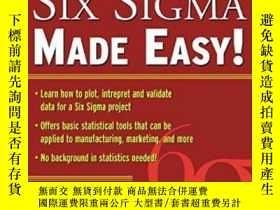 二手書博民逛書店Statistics罕見For Six Sigma Made E