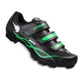 【ATEMPO】MRC 登山車卡鞋 男款  螢光綠  塑鋼大底/SPD/卡踏