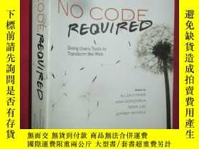 二手書博民逛書店No罕見Code Required: Giving Users