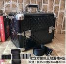 大號化妝箱專業紋繡箱多層跟妝半永久工具箱美髮美甲箱手提帶肩帶