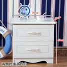 床頭櫃白色簡易烤漆床頭櫃歐式簡約現代儲物櫃臥室多功能組裝收納床邊櫃 JD 美物居家