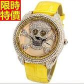 鑽錶-焦點百搭優質女手錶6色5j28[巴黎精品]