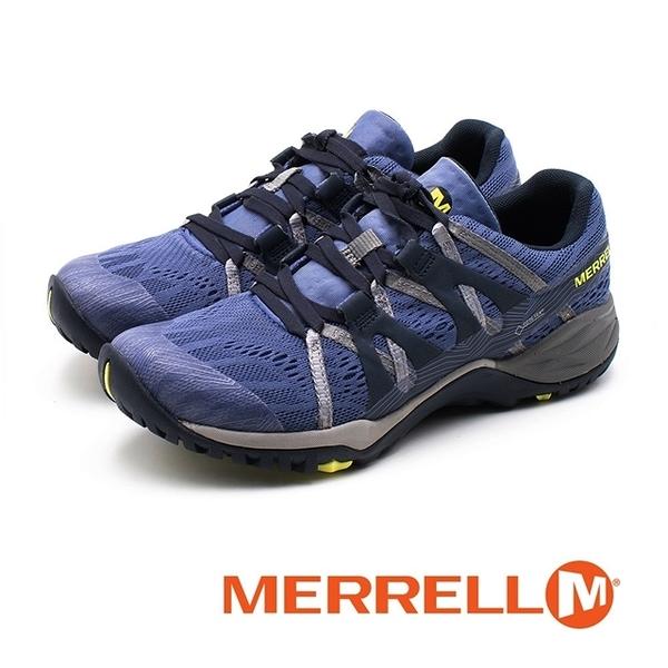 MERRELL Siren Hex Q2 E-Mesh 防水GORE-TEX郊山健行鞋 女鞋 - 藍紫(另有鐵灰)