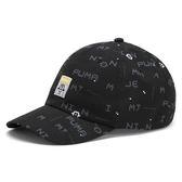 Puma 黑 運動帽 兒童帽 小小兵 遮陽帽 6-Panel Cap 運動帽 孩童帽 帽子 02172801