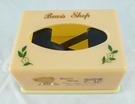 【震撼精品百貨】日本泰迪熊_Bear shop~塑膠面紙盒『膚色&黃色』(共兩款)