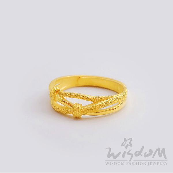 威世登 黃金流線型戒 金重約0.94~0.96錢 GA01312-FXX-FIX