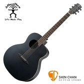 aNueNue LL16 黑鳥/41吋黑色吉他 雲杉面板/桃花心木側背板 (面單)附多樣配件