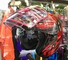RSV安全帽,FORZA,疾風/紅黑