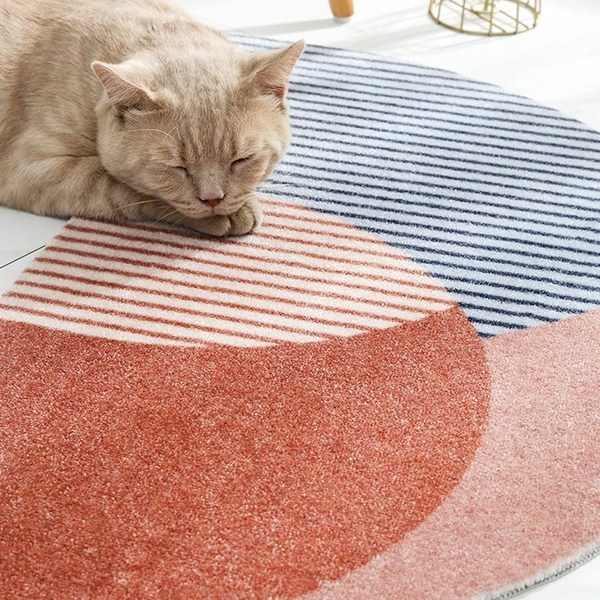 日系半月地墊 約45cmX75cm(誤差約正負1cm) 棉床本舖