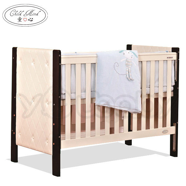 童心 三合一高雅皮革嬰兒床(大床) -查爾斯