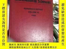 二手書博民逛書店英文書罕見trends in biochemical sciences volumes 10生化科學第10卷Y