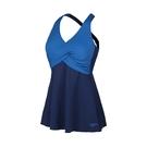 (B9) Speedo Wrap 女 運動連身裙裝 SD8127778148 藍 [陽光樂活]