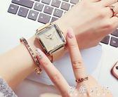 新款潮流方形休閒防水石英錶『歐韓時代』