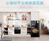 BCD-108黑色彩色小型冰箱冷藏冷凍雙門小冰箱igo 全館免運 繁華街頭