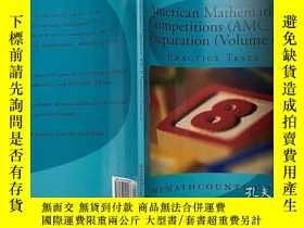 二手書博民逛書店英文原版罕見美國數學競賽考試準備 AMC8 卷6 American Mathematics Competition