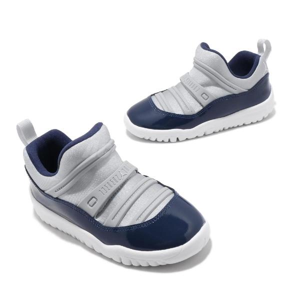 Nike Jordan 11 Retro Little Flex TD 灰 藍 童鞋 小童鞋 喬丹 休閒鞋 【ACS】 BQ7102-007