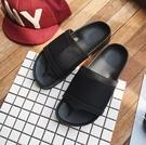 找到自己 MD 韓國 休閒 時尚 男 圓頭 透氣 網布 一字拖鞋 沙灘涼鞋 拖鞋 學生涼鞋
