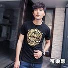 燙金英文圖騰男生短袖T恤【JTJ2035...