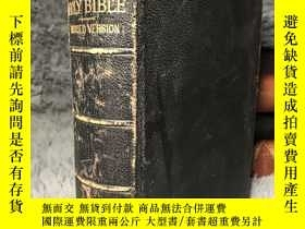二手書博民逛書店1885年罕見THE HOLY BIBLE CONTAINING THE OLD AND NEW TESTAMEN