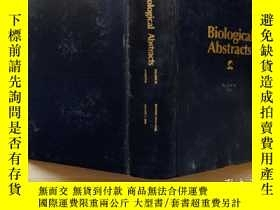 二手書博民逛書店Biological罕見abstracts 1990 volume 90 Number 3 英Y302069