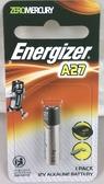 Energizer 勁量 A27、27A 遙控器電池 12V 【1入/卡】
