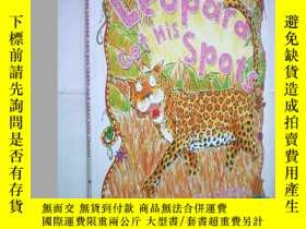 二手書博民逛書店How罕見the Leopard Got His Spots (
