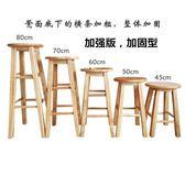 實木吧椅吧凳實木吧台椅酒吧椅高腳凳梯凳歐式吧台椅椅子WY【開學季任性88折】