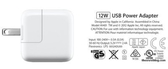 【YUI】Apple iPad Air iPad mini 2 原廠旅充10WUSB Power Adapter A1357 原廠旅充 iPhone 6s/6s Plus