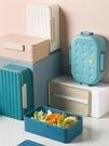 便當盒北歐塑料分格飯盒上班族學生密封便當盒微波爐用大容量午餐盒春季新品