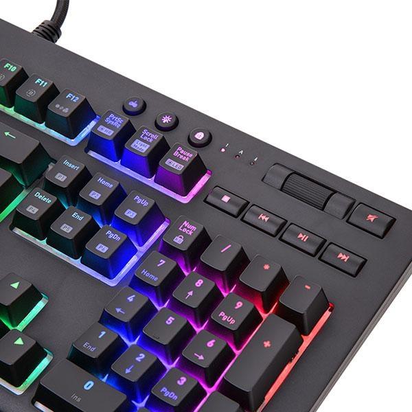 Tt eSports 曜越 TT Premium X1 RGB Cherry MX 機械式青軸電競鍵盤
