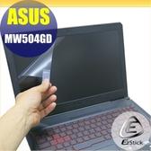 【Ezstick】ASUS MW504 MW504GD 靜電式筆電LCD液晶螢幕貼 (可選鏡面或霧面)