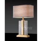 【燈王的店】後現代燈飾 桌燈1燈  金屬  大理石 布罩  ☆311823