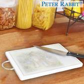 【クロワッサン科羅沙】Peter Rabbit~ 經典比得兔角型抗菌砧板(L)白NF-211201