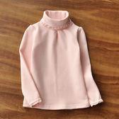 女童打底衫長袖t恤兒童純棉高領上衣女童裝2019新款洋氣秋冬裝潮