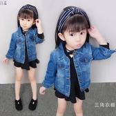 一周0-1歲半到2至3歲韓版女童春裝寶寶個性8外套7小孩5-6牛仔開衫