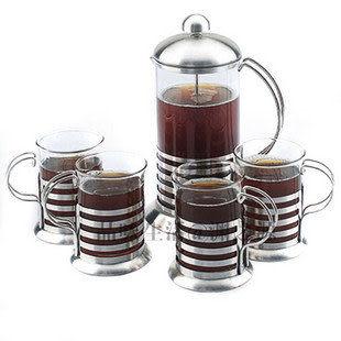 花茶壺,5件套裝
