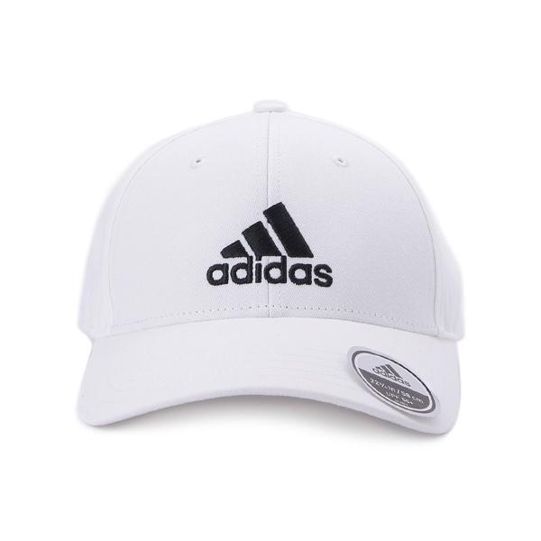 ADIDAS BBALL CAP COT 棒球帽 白 FK0890 鞋全家福