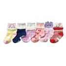 【韓風童品】(6雙/組)女童卡通造形襪子...