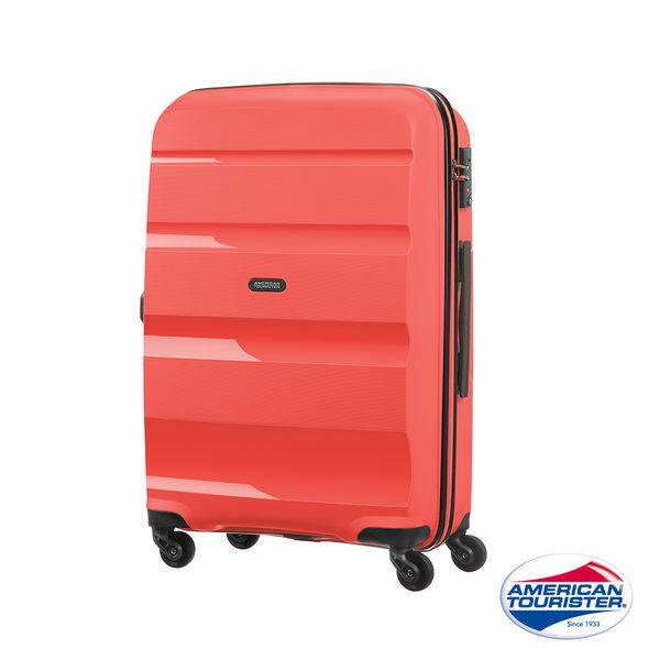 AT美國旅行者24吋 BON-AIR PP 材質 可擴充四輪行李箱(珊瑚紅)