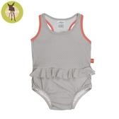 德國Lassig-嬰幼兒抗UV連身式泳裝-普普風點點