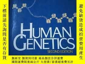 二手書博民逛書店human罕見genetics 外文原版 Y14465 john b. jenkins