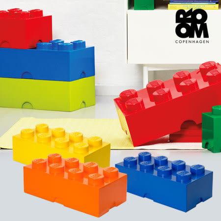 樂高 LEGO 經典方塊八置物盒 置物盒 收納盒 積木盒 玩具箱 居家 整理 收納 分類